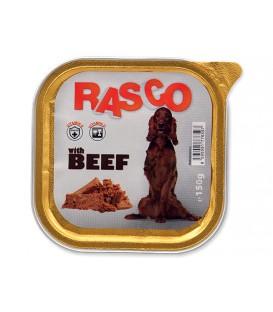 Paštéta RASCO Dog s hovädzím mäsom 150g