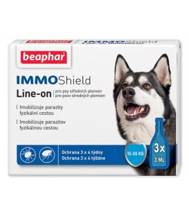 BEAPHAR Line-on IMMO Shield pre psy M 9ml