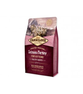 CARNILOVE Salmon and Turkey Kittens Healthy Growth 2kg