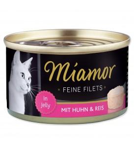 Konzerva MIAMOR Feine Filets kura + ryža v želé 100g