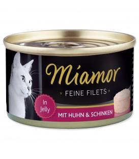 Konzerva MIAMOR Feine Filets kura + šunka v želé 100g