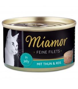 Konzerva MIAMOR Feine Filets tuniak + ryža v želé 100g