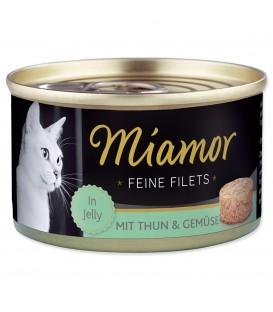 Konzerva MIAMOR Feine Filets tuniak + zelenina v želé 100g