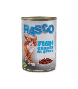 Konzerva RASCO Cat rybacie kúsky v šťave 415g