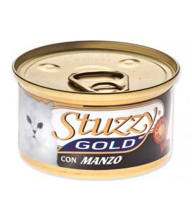 Konzerva STUZZY Cat Gold hovädzie 85g