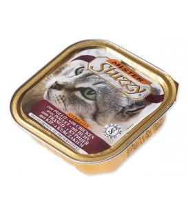 Vanička MISTER STUZZY Cat pre sterilizované mačky kuracie 100g