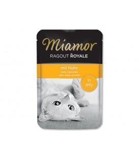 Kapsička MIAMOR Ragout Royale kura v želé 100g