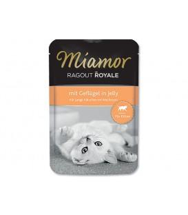 Kapsička MIAMOR Ragout Royale Kitten hydinové v želé 100g