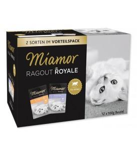 Kapsičky MIAMOR Ragout Royale Kitten v želé multipack 1200g