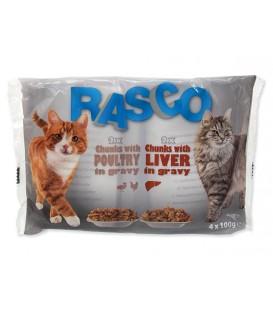 Kapsičky RASCO Cat hydina / pečeň multipack 400g