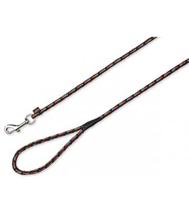 Vodítko TRIXIE kulaté černo-oranžové 5 m