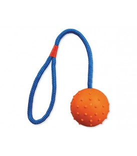 Hračka TRIXIE loptička gumová na povraze 30 cm