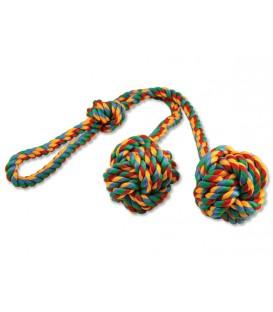 Preťahovadlo DOG FANTASY kliklak farebné 50 cm
