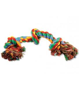 Uzol DOG FANTASY bavlnený farebný 3 knôty 40 cm