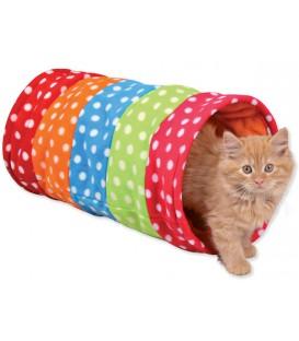 Hračka TRIXIE tunel na hranie farebný 50 cm