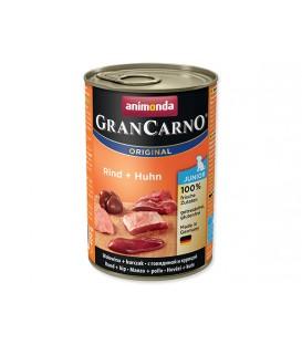Konzerva ANIMONDA Gran Carno Junior hovädzie + kura 400g
