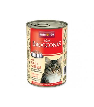 Konzerva ANIMONDA Brocconis hovädzie + hydina 400g