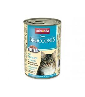Konzerva ANIMONDA Brocconis treska + kura 400g