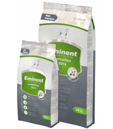 Eminent Dog Lamb & Rice 15 + 3 kg