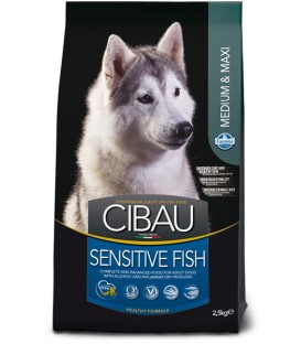 Cibau Adult Sensitive Fish Medium&Maxi 2,5 kg