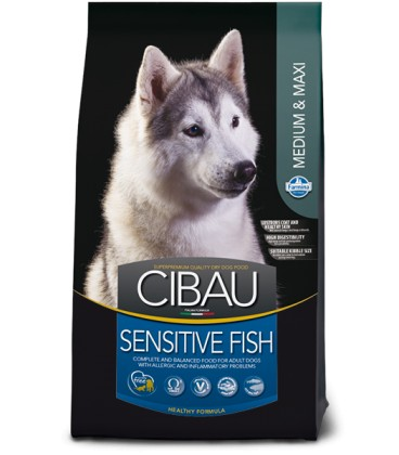 Cibau Adult Sensitive Fish Medium&Maxi 12 kg