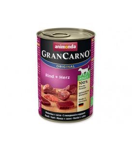Konzerva ANIMONDA Gran Carno hovädzie + srdce 400g