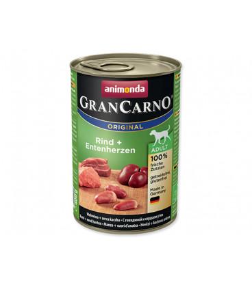 Konzerva ANIMONDA Gran Carno hovädzie + kačacie srdce 400g