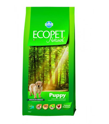Farmina MO P ECOPET dog puppy medium 12 +2 kg
