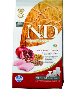 Farmina N&D dog LG puppy medium chicken&pomegranate 2,5 kg