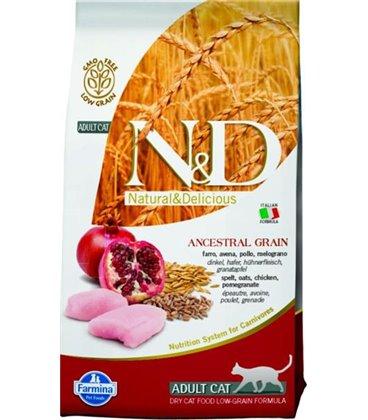 Farmina N&D cat LG adult chicken&pomegranate 1,5 kg