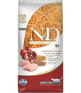 Farmina N&D cat LG adult chicken&pomegranate 5 kg