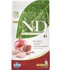 Farmina N&D cat GF kitten chicken&pomegranate 1,5 kg