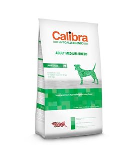 Calibra Dog LG HA Adult Medium Breed Lamb 14 kg