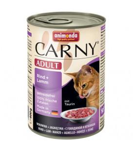 Konzerva Animonda CARNY® cat Adult hovädzie a jahňa 400 g