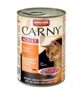 Konzerva Animonda CARNY® cat Adult hovädzie a kura 400 g