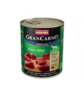 Konzerva ANIMONDA Gran Carno hovädzie + divina 800g