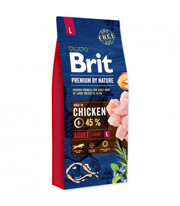 BRIT Premium by Nature Adult L 15kg