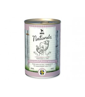 Konzerva BOZITA Dog Naturals Chicken & Lamb 410g