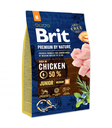 BRIT Premium by Nature Junior M 3kg