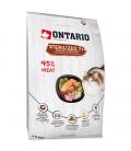 ONTARIO Cat Sterilised 7+ 6,5kg