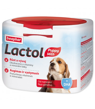 Sušené mlieko BEAPHAR Lactol Puppy Milk 500g