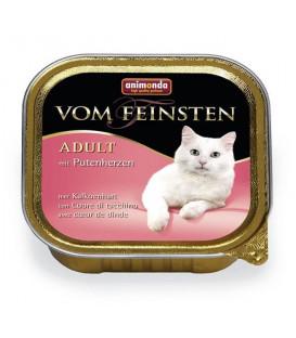 Animonda Vom Feinsten cat hovädzie a morčacie srdiečka 100 g