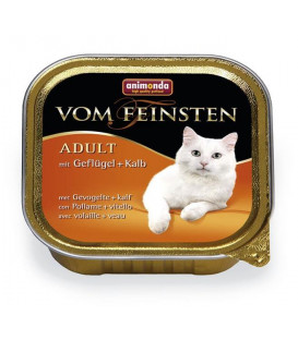 Animonda Vom Feinsten cat hydina a teľacie 100 g