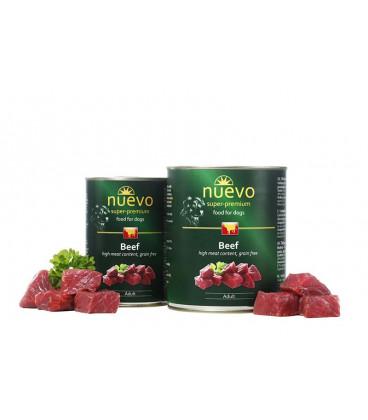 NUEVO konzerva dog Adult Beef 800 g